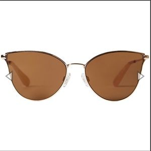 BCBG Cat Eye Aviators